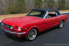1965 Ford Mustang 1965 Ford Mustang GT Convertible Red Black 289 4Spd Restored Gorgeous
