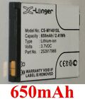 Battery 650mAh type 252917966 For SAGEM MY401C