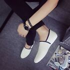 Fashion Mens Slip on Leather Driving Moccasin Casual Sneakers Loafer Shoes OG45