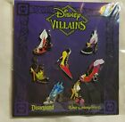 Disney Pins VILLAIN SHOES HIGH HEELS Booster Set NEW FREE SHIPPING