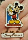 Disney Salutes MERCHANDISE Pin Mickey Mouse WDW Cast Exclusive
