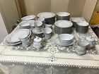 NORITAKE china SAVANNAH 2031 pattern  SERVICE for 12 (TWELVE)