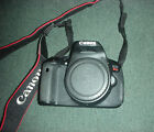 CANON EOS Rebel T4i 180 MP Digital SLR Camera w EF S 18 200mm Lens LOW SHUTTER
