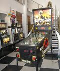 JURASSIC PARK PINBALL MACHINE ~ SUPERB CONDITION ~ LED UPGRADED ~ READY TO ENJOY