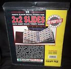 Clear File CLEAR-FILE Format #21B Archival PLUS 2 x 2 Slides Page Refill