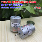 YG370R-18240 Mute Motor Precious Metal Brush Air Pump Motor DC3V-9V 2200-6350RPM