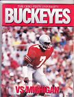OHIO STATE MICHIGAN PROGRAM NOVEMBER 22 1986