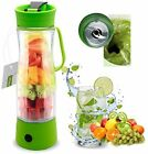 HQdeal Mini Electric Personal Juicer Sports Bottle Protein Shaker Mixer Maker