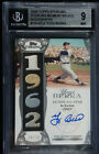 2006 TOPPS STERLING YOGI BERRA JERSEY PATCHES AUTO SERIAL #'d 10 10 BGS 9 10