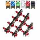 10pcs CNC Aluminum Motorcycle M5 Fairing Bolts Clips Screws Nuts Set for Chopper
