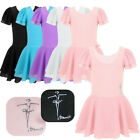 Girl Gymnastics Ballet Dress Kid Leotard Tutu Skirt Dance Ballerina Costume 2 12
