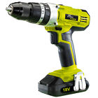 Draper STORMFORCE 18V LI-ION Three function Combi Drill Screwdriver Hammer Drill