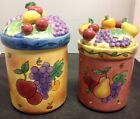2 Sango Sangria Small & Extra Small Canisters - MINT