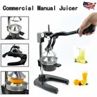 Commercial Fruit Orange Juicer Squeezer Manual Vegetable Citrus Extractor USA