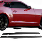 Fits 10 15 Chevy Camaro Ikon Style Rocker Pannel Side Skirts Extension Pair PP