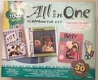 Scrapbooking Album Kit All In One Over 1000 Pieces All Occasions New Deluxe Kit