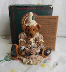 BOYDS BEARS BAILEY'S BIRTHDAY FIGURINE #2014 WITH BOX