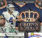 2016 Panini Crown Royale NFL Football EXCLUSIVE Factory Sealed Retail Box wit...