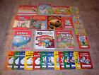 ABEKA KINDERGARTEN GRADE K5 LETTERS  SOUNDS WRITING NUMBERS STUDENT BOOKS