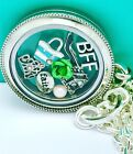 Heirloom Locket Best Friend Theme With 24 Box Chain Origami Owl Style