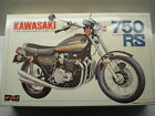 Nagano Vintage 1/8 Scale Kawasaki 1974 Z1A 750 Model Kit - New - Rare