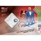2017 Topps Now #148-B Derek Jeter Retirement Ceremony NYY Auto Relic LTD 10