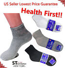 ANKLE QUARTER Diabetic Socks Circulatory Health Cotton Men Women LOOSE FIT TOP