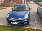 LARGER PHOTOS: 2007/57 MINI ONE 1.4 PETROL - BLUE, 8 MONTHS MOT IN PERFECT CONDITION