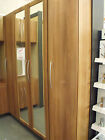 ex display saponetta medium walnut fitted bedroom furniture by ECF