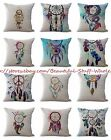 US SELLER 10pcs cushion covers native Indian dream catcher covers for throw