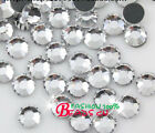 1440p Iron On Hot fix Flat back Crystal glass clear Rhinestones beads ss16 ss20