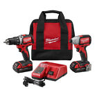 Milwaukee Compact BL Drill & Impact Driver Combo Kit 2798-82CT Reconditioned