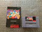 Super Punch Out Super Nintendo SNES Authentic Game Cart + Manual Tested
