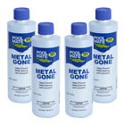 Pool Mate Spa  Hot Tub Metal Out Problem Solving Chemical 4 x 1 Pint