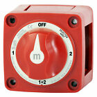 Blue Sea 6007 M Series Selector Battery Switch 4 Position Marine Red