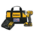 DEWALT 20V MAX 15 Ah Cordless Li Ion 1 4 in Impact Driver Kit DCF885C1 New