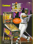 1995 GOTTLIEB BIG HURT PINBALL FLYER