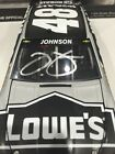 Autographed Jimmie Johnson 2015 Lowes KOBALT