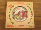 ORIGINAL BOX! Corelle 1991 Holiday Collectors Plate Christmas Sugar Plums Pyrex