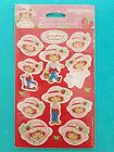 NEW  Sealed 2003 STRAWBERRY SHORTCAKE Stickers Seals 2 sheets FREE SHIPPING