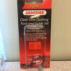 Janome Sewing Machine Clear View Quilting Foot and Guide Set for 9mm Models New