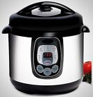 Programmable Stainless Steel 8-Quart Pressure Cooker KItchen Dining Appiance New