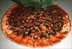 Tapered Pencil Fall Autumn Tree Skirt 32 Fallen Leaves