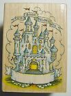 All Night Media CASTLE BOOKPLATE 695H 1993 THIS BOOK BELONG TO Rubber Stamp New