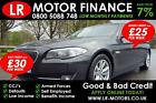 BMW 520 20TD 2012 Good Bad Car Finance FR 25 PW