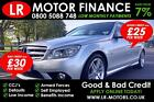 Mercedes Benz C180 Kompressor 18  Good Bad Credit Car Finance FR 30 PW
