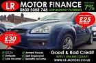 Ford Focus 16 2005 Good Bad Credit Car Finance FR 25 PW