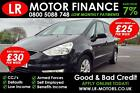 Ford Galaxy 18TDCi Good Bad credit car finance