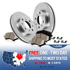 Front Rotors and Ceramic Pads 1993 1994 1995 1996 1997 GEO PRIZM TOYOTA COROLLA