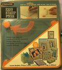 Fiskars Easy Stamp Press Easy Layout Ink and Stamp Clear Grid Spring Feet NEW